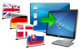 Jazyk stránky a administrácie